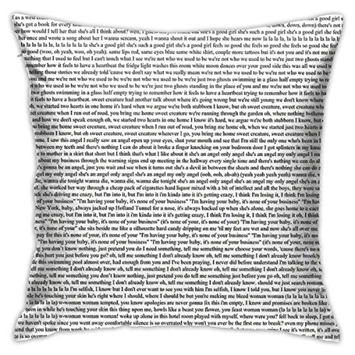 Not Applicable Every Lyric From Harry Styles Album Cushion Throw Pillow Cover Decorative Pillow Case For Sofa Bedroom 18 X 18 Inch