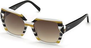 bc567ccf4ccc Sunglasses Emilio Pucci EP 0070 24F white/other / gradient brown