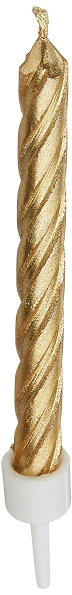 Wilton 2811-9122 Gold Candles, Metallic
