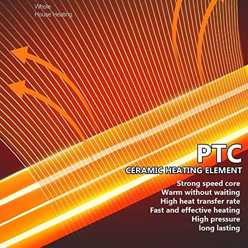 WI Elektroherd Elektrischer Kamin Massivholzraumheizung Virtuelle Flamme Fernbedienung 12H Zeitsteuerung Konstante Temperaturregelung Laufrollen, Braun,Braun