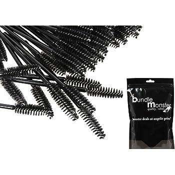 BMC 100pc Disposable Cosmetic Mascara Makeup Eyelash Wand Applicators