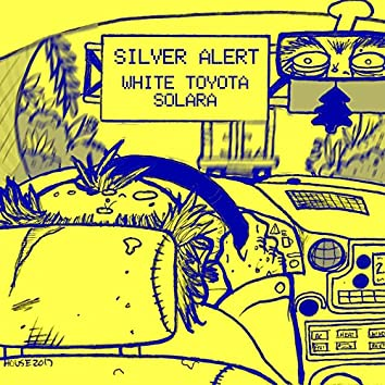 White Toyota Solara