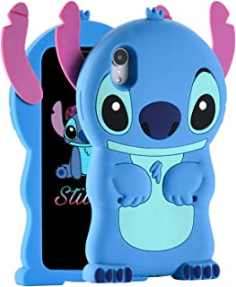 """Cases for iPhone XS MAX Case, Lilo Stitch Cute 3D Cartoon Unique Soft Silicone Animal Rubber character Shockproof Anti-bump Protector Boys Kids Girls Gifts Cover Housing Skin For iPhone XS MAX 6.5"""""""