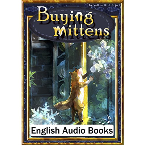 『Buying mittens(手袋を買いに・英語版)』のカバーアート