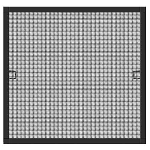 Schellenberg 70031 Insektenschutz-Fenster Plus, Fliegengitter Fenster mit Rahmen