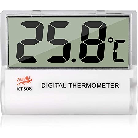 Broco Digital Thermometer DC16 LCD Digital Aquarium Thermometer Waterproof Temperature Thermometer for Fish Tank