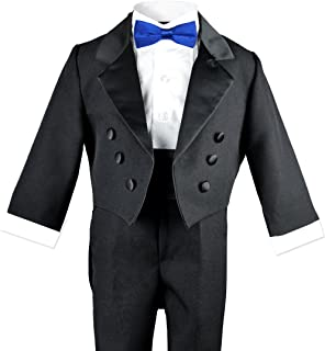 Baby Boys Toddlers Black Tuxedo with a Tail