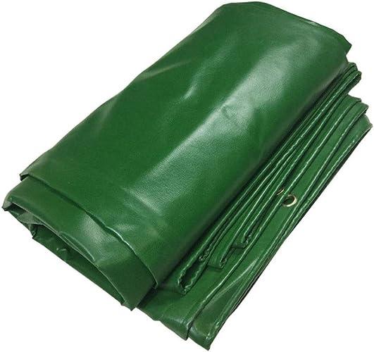 WHS épaississez la Feuille résistante de bache imperméable de Tissu antipluie de PVC Couvre 500g   m2 (Taille   4x4m)