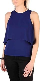 Guess Women's 71G489_7857Z Top Blue