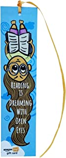 Amazon Pay Gift Card - Gift a book | Bookmarks - Reading is Dreaming