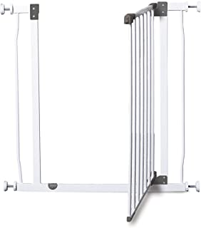 Dreambaby Liberty Extra Tall Auto Close Security Gate W/Stay Open Feature White