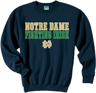 Notre Dame Fighting Irish Sweatshirt Fight Navy