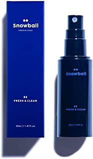 SNOWBALL All-Natural Spray-type Deodorant for Men, Advanced Cooling Effects, 1.01 Fl Oz