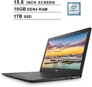 Dell Inspiron 15 5000 15.6-Inch FHD 1080P Laptop, Intel Dual Core i7-7500U up to 3.5 GHz, Intel HD Graphics 620, 16GB DDR4 RAM, 1TB PCle SSD, HDMI, WiFi, Bluetooth, Windows 10 Home