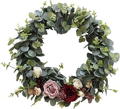 Ensemble de 2 d/écorations /à Suspendre d/écoratives avec Guirlande de 9 pi Turquoise Christmas Concepts/®