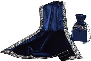 comprar comparacion BLESSUME Altar Tarot Gamuza de Mesa con Una (Azul Oscuro)