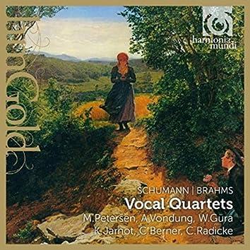 Schumann & Brahms: Vocal Quartets