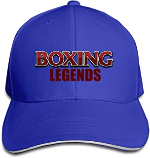 Men's Boxing Legends Washed Twill Sandwich Bill Cap
