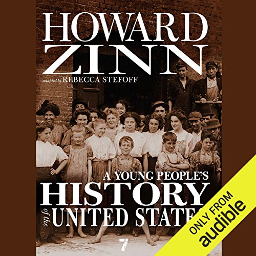 A Young People's History of the United States audiobook cover art