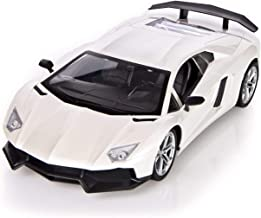 Jack Royal 1:12 Scale L-amborghini Style Large Size Remote Controlled Carr with Light - (White/Random Colors)