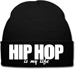 b732aca0a438d Spreadshirt Hip Hop Is My Life Bonnet d'hiver