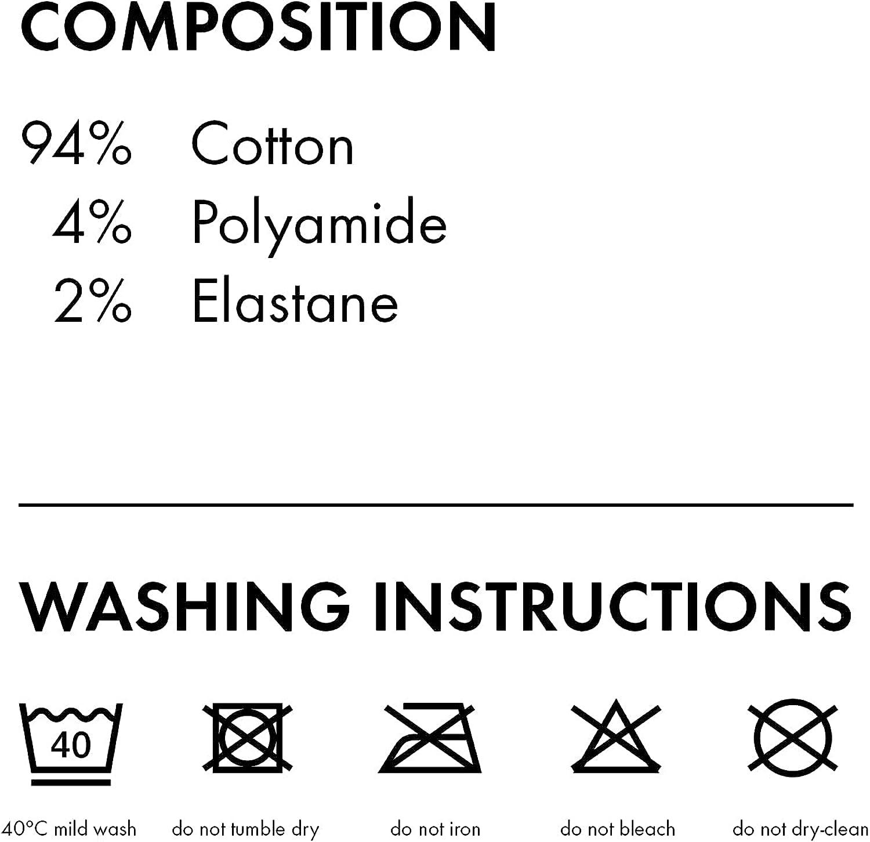 FALKE Unisex-Child Family Tights Cotton Black White 1 Pair