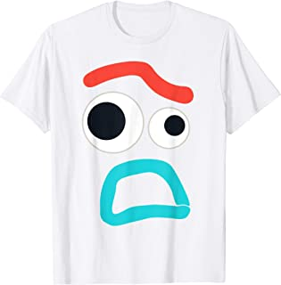 Disney and PIXAR Toy Story 4 Forky Timid Face Costume T-Shirt