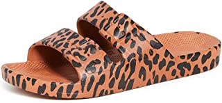 Freedom Moses Women's Two Band Slides