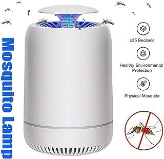 GJNVBDZSF Lámpara para Mosquitos, USB Lámpara Recargable para Matar Mosquitos Oficina Física antimosquitos Artefacto para atrapar Mosquitos Lámpara Repelente de Mosquitos LED