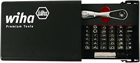 Wiha 71988 Security Bit Set in Compact Storage Box, 39-Piece