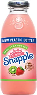 Snapple - Kiwi Strawberry - 16 fl oz (24 Plastic Bottles)