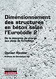 Dimensionnement des structures en béton selon l'Eurocode 2 - De la descente de charges aux plans de ferraillage