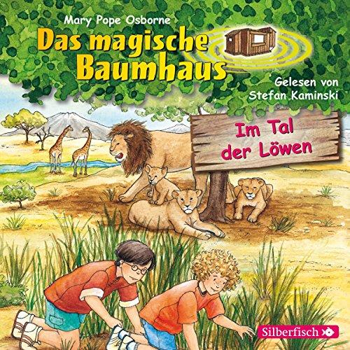 Im Tal der Löwen (Das magische Baumhaus 11) audiobook cover art