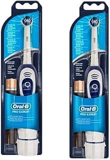 comprar comparacion Oral-B Braun Pro Expert DB4010 - Cepillo de dientes a pilas (2 unidades), color blanco y azul