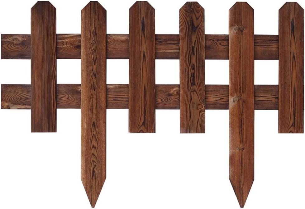 LIQICAI Decorative Garden Fence Solid Surprise price for Max 72% OFF Indo Wood Picket
