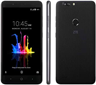 "ZTE Blade Z MAX Z982 (32GB, 2GB RAM) 6.0"" Full HD Display, Dual Rear Camera, 4080 mAh Battery, 4G LTE GSM Unlocked Smartphone w/US Warranty (Black) (32GB + 64GB SD Bundle)"