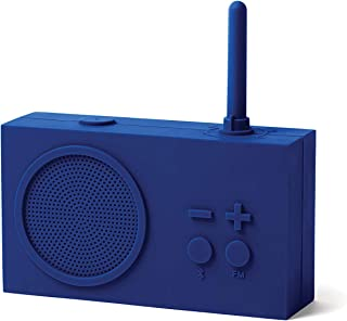 Lexon TYKHO 3 FM Radio + Bluetooth Lautsprecher, Dunkelblau