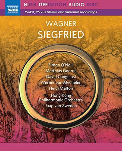 Wagner. Siegfried (Hong-Kong, 2017) [Blu-Ray Audio]