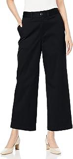 [セシール] パンツ ワイド チノパンツ ストレッチ 選べる丈 洗濯機OK レディース MP-2297