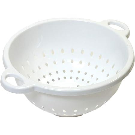 Chef Craft Select Plastic Deep Colander, 11x5 inch 5 quart, White