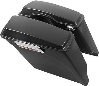 TCMT Motorbike Saddlebag Trunk Fits For Harley Electra Glide 93-13 Road Glide 98-13 Tour Glide 93-96