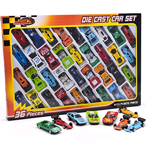 KandyToys 36 Piece Die Cast Meta...