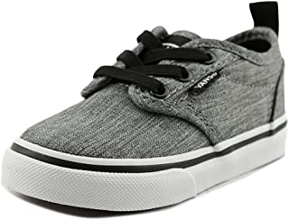 Toddler's Atwood Slip on (Rock Textile) Black/White