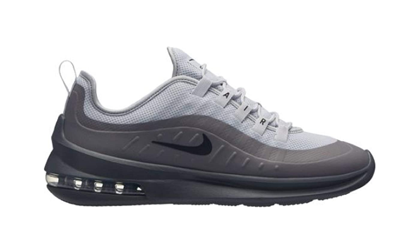 Nike Men's Air Max Axis Pure Platinum/Black/Dark Grey Size 13 M US