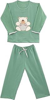 Pijama Longo Infantil Algodão Menino Mechler
