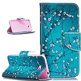 Ikasus® − Funda tipo cartera de piel sintética para Huawei Y5II,...