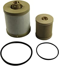 CARMOCAR For Ford 6.0L 2003-2007 4604 Diesel Fuel Filter Pack includes lower lifter pump filter and upper fuel bowl filter FD4616 Ford F250 F350 F450 F550 F650 EXCURSION FD-4604 Replacements