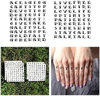 Best traditional tattoo alphabet Reviews