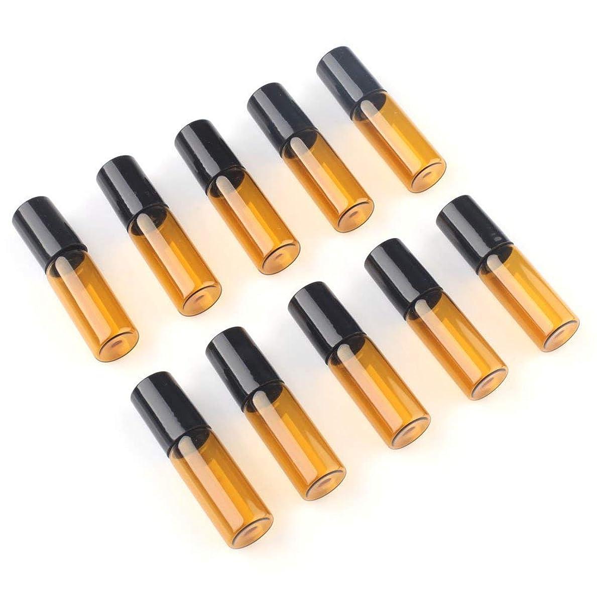 差袋荒れ地アロマオイル 精油 小分け用 遮光瓶 10本セット (5ml)