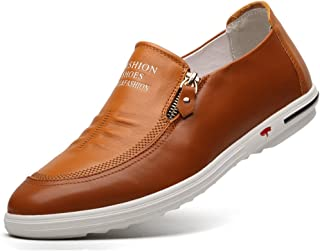 ab9935fd4b6340 Feidaeu Loafers Homme Chaussure Mocassins Enflier Confortable Respirent  Usure Durable Inodore Basse Travail Mode Derby